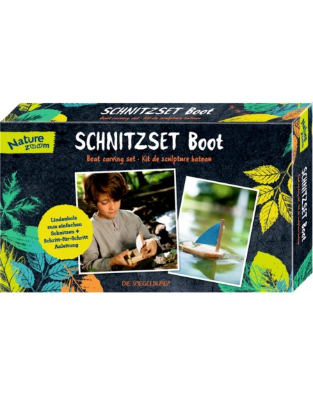 "Houtsnijwerkset ""boot""..."