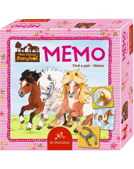Memo Mein kleiner Ponyhof