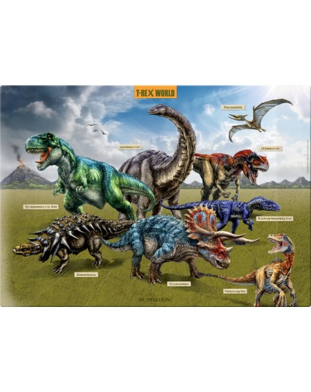Buro onderlegger T-Rex World