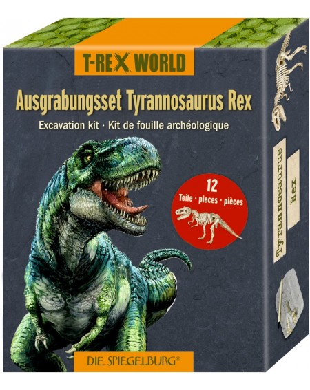 Uitgraafset T-Rex T-Rex World