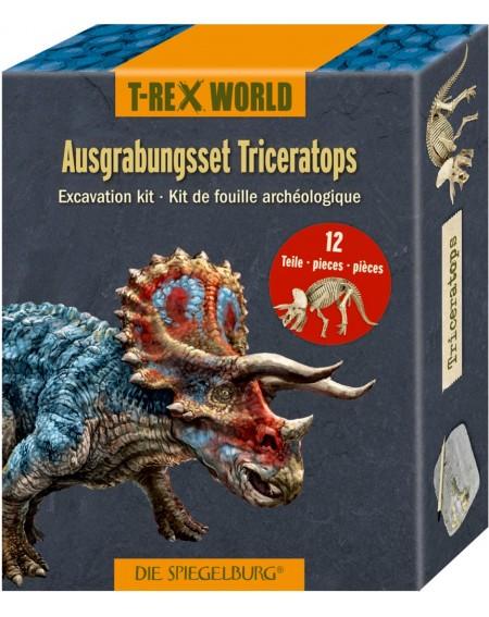 Uitgraafset Triceratops...