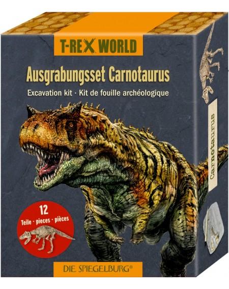 Uitgraafset Carnotaurus...