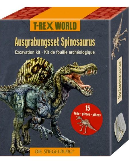 Uitgraafset Spinosaurus...