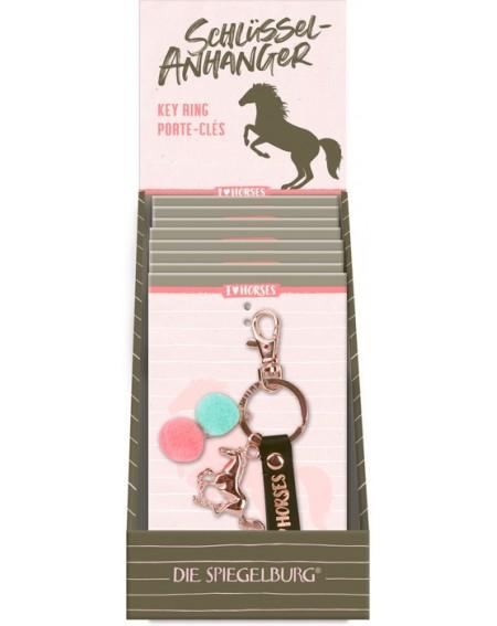 Sleutelhanger I Love Horses