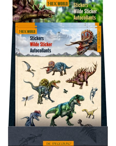 Stickers T-Rex World