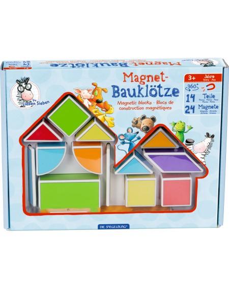 Magneet bouwblokken