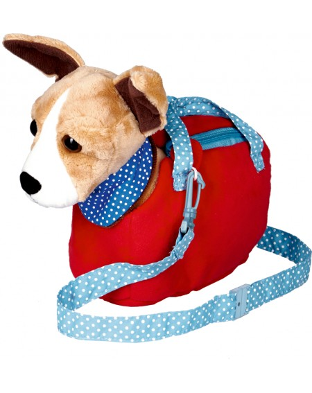 Chihuahua in een tasje