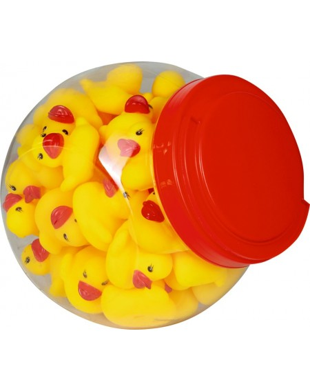 Piepende bad eend