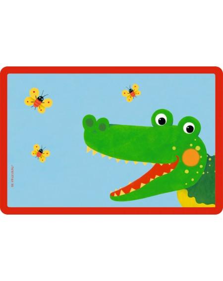 Placemat krokodil