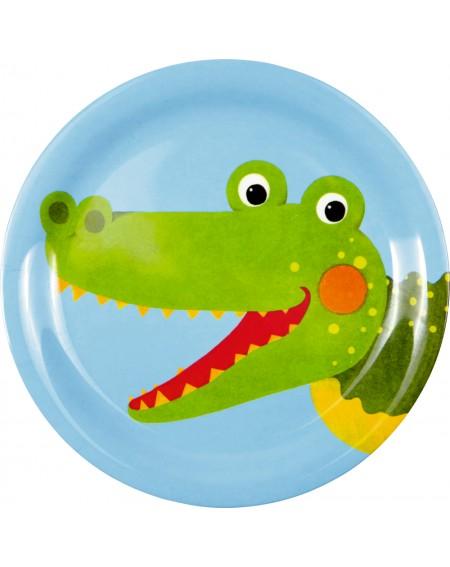 Melamine bord krokodil