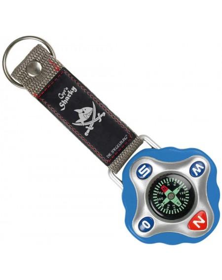 Kompas sleutelhanger Capt'n...