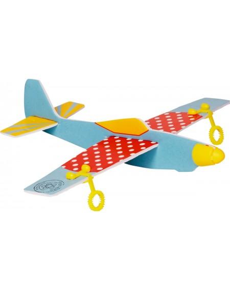 Bellenblaas vliegtuig