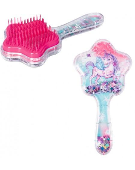 Haarborstel met bewegende...