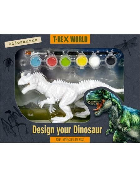 Dinosaurus om te beschilderen