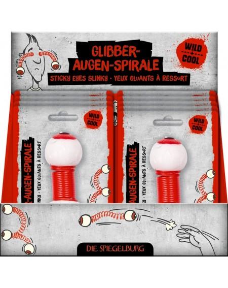 Spiraal met glibberogen