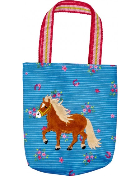Tas blauw Mein kleiner Ponyhof