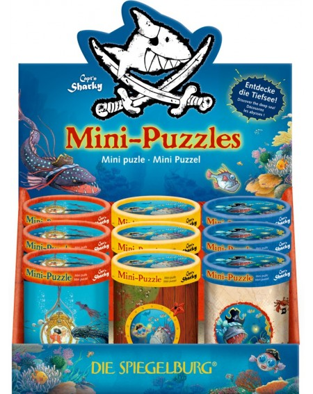Mini puzzel Capt'n Sharky